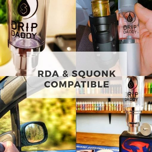 RDA & Squonk Compatible EZ Dripper